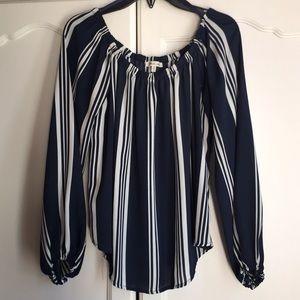 ❄️Sheer blouse